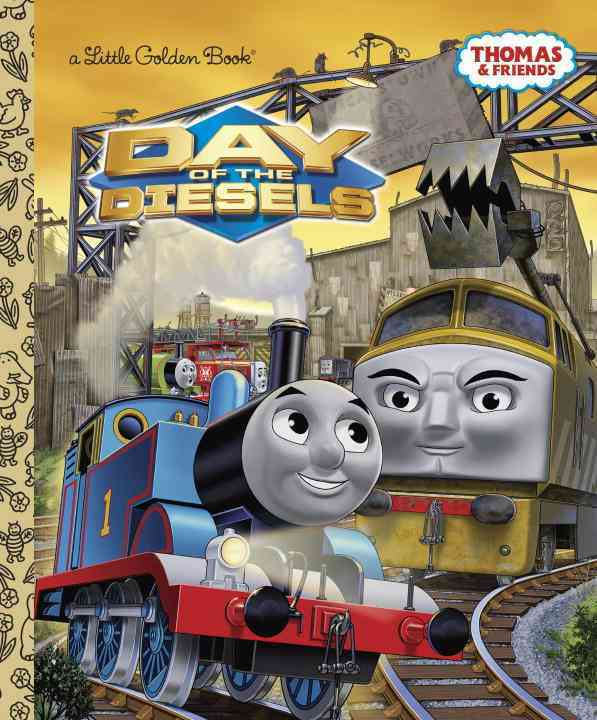 Day of the Diesels By Awdry, W./ Golden Books Publishing Company (COR)